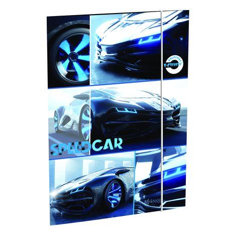 Rajzlaptartó T-Creativ A/3, Cars (fehér autós)