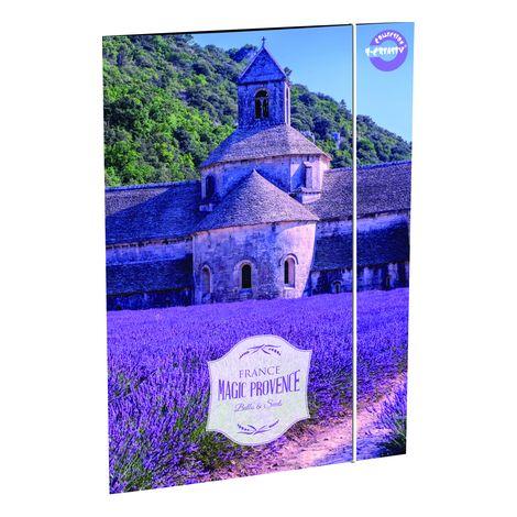 Rajzlaptartó T-Creativ A/3, Vintage Provence (levendula, Provance)