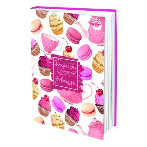Napló T-Creativ A/5 sima, Sweeties (Párizs, macaron)