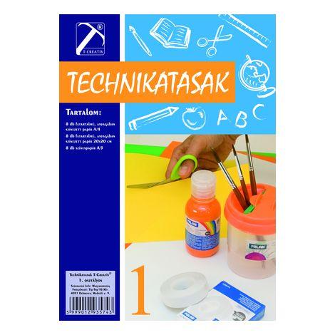 Technika tasak , I.osztály, T-Creativ termék