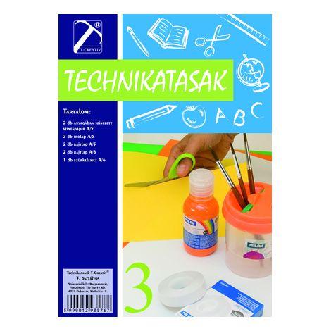 Technika tasak , Iii.osztály, T-Creativ termék