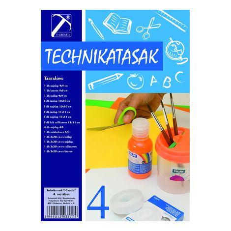 Technika tasak , Iv.osztály, T-Creativ termék