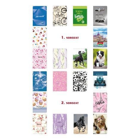Személyi iratok , álló , 6 tasakos, T-Creativ termék