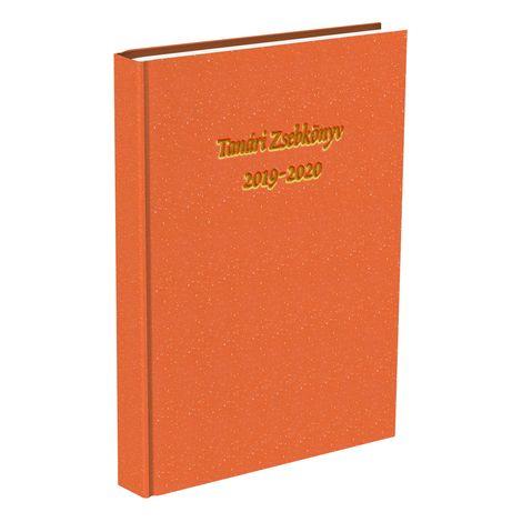 Tanári zsebkönyv T-Creativ A/5 Műbőr bronz