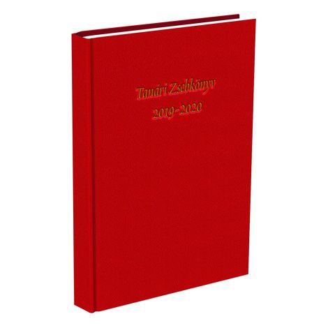 Tanári zsebkönyv T-Creativ A/5 Műbőr piros