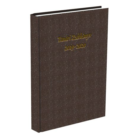 Tanári zsebkönyv T-Creativ A/5 Műbőr barna