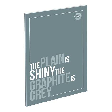 Füzet T-Creativ A/5 extra Plain, 81-32, vonalas, Tiffany Blue