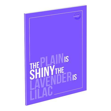 Füzet T-Creativ A/5 extra Plain, 87-32, négyzetrácsos, Lilac Purple