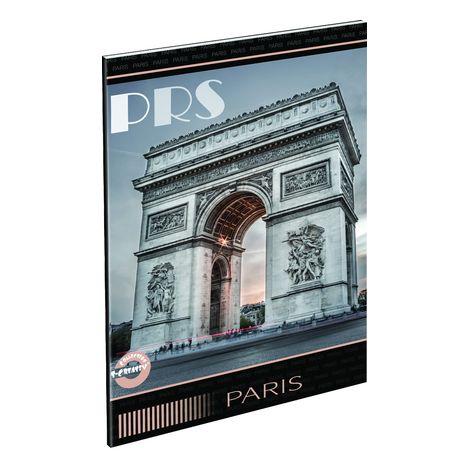 Füzet T-Creativ A/4 extra, 80-40, sima, City Paris diadalív (PRS)