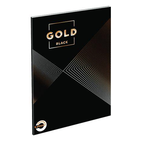 Füzet T-Creativ A/4 extra, 80-40, sima, Metal Gold 2 (Gold black)