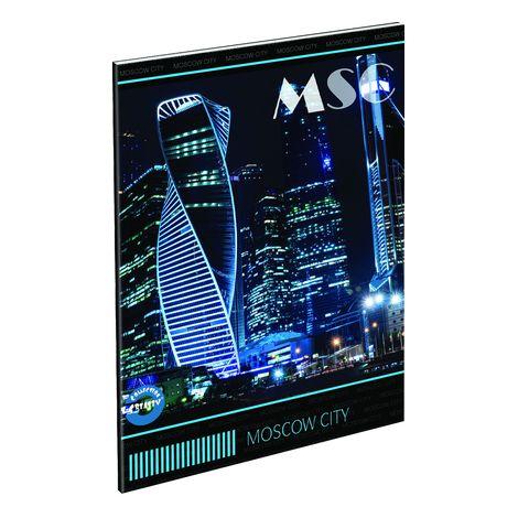 Füzet T-Creativ A/4 extra, 80-40, sima, City Moscow (MSC)